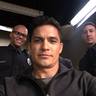 PLL behind-the-scenes Nicholas Gonzalez filming episode 7x13