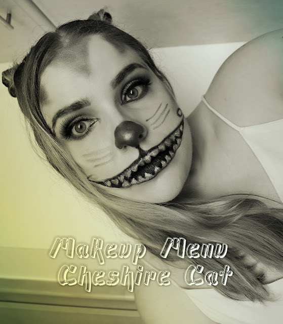 MAKEUP MENU | HALLOWEEN LOOK CZ.3 | CHESHIRE CAT