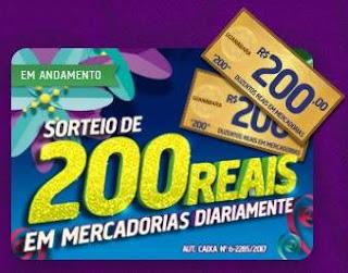 Promoção Guanabara Supermercados 2018 Duzentos Reais Todo Dia Mercadorias