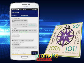 JOTI Mandiri Menggunakan Android