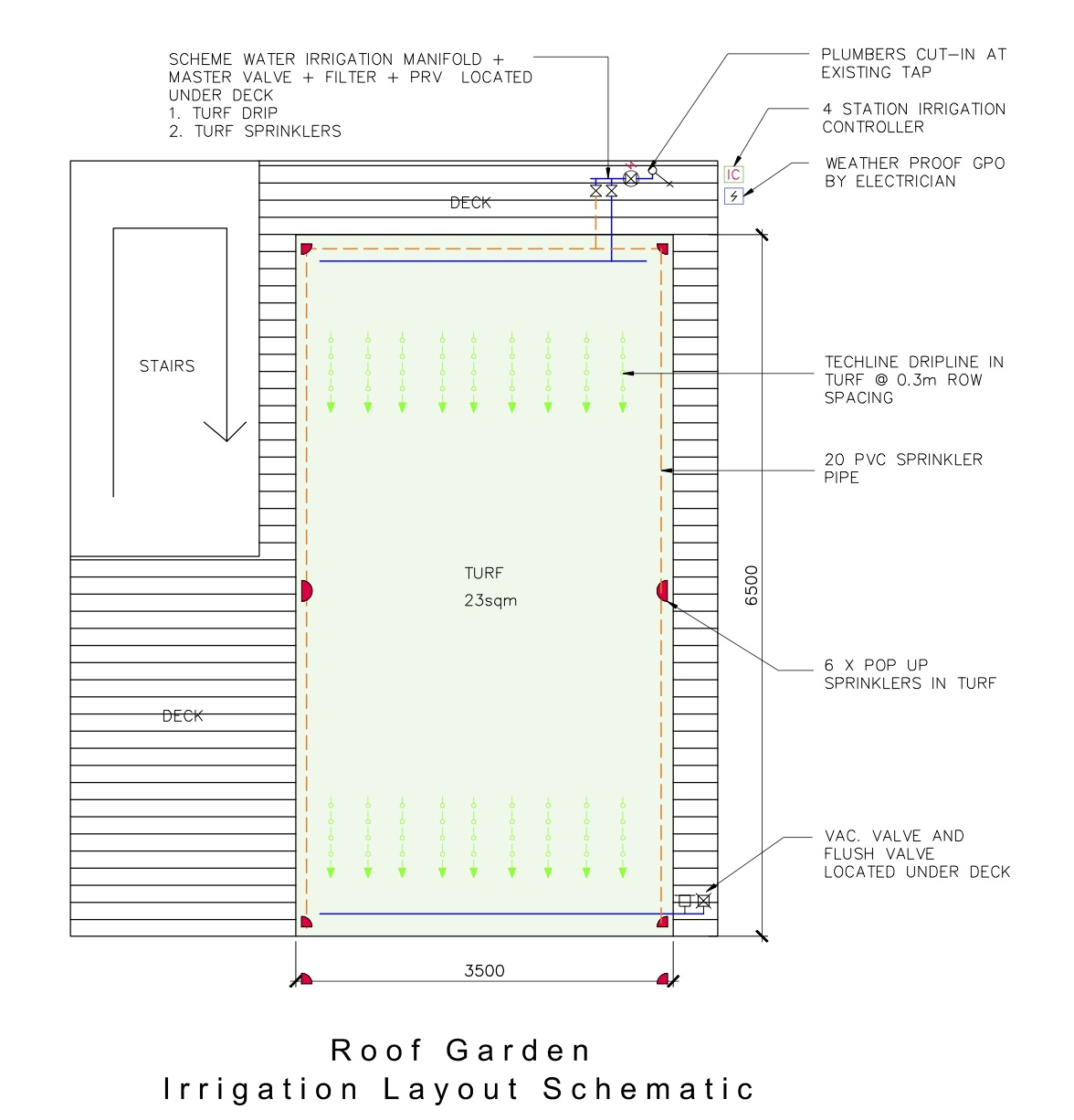 Le De Ville Roof Top Garden