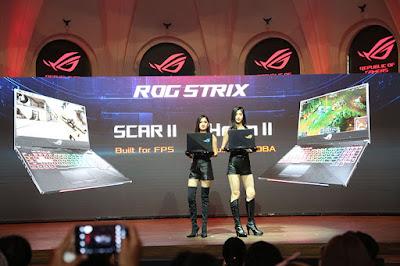 ASUS ROG Strix GL504 Hero II dan Scar II