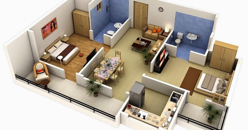 33 Desain Rumah Minimalis Type 36 Terbaru Yang Modern Dan Simpel