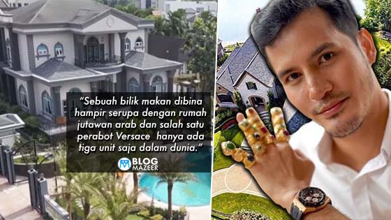 Tombol Sinki Bilik Air je Dah RM100,000. Ini 6 Fakta Menarik Tentang 'Istana' Aliff Syukri Yang Bakal Buat Korang Ternganga