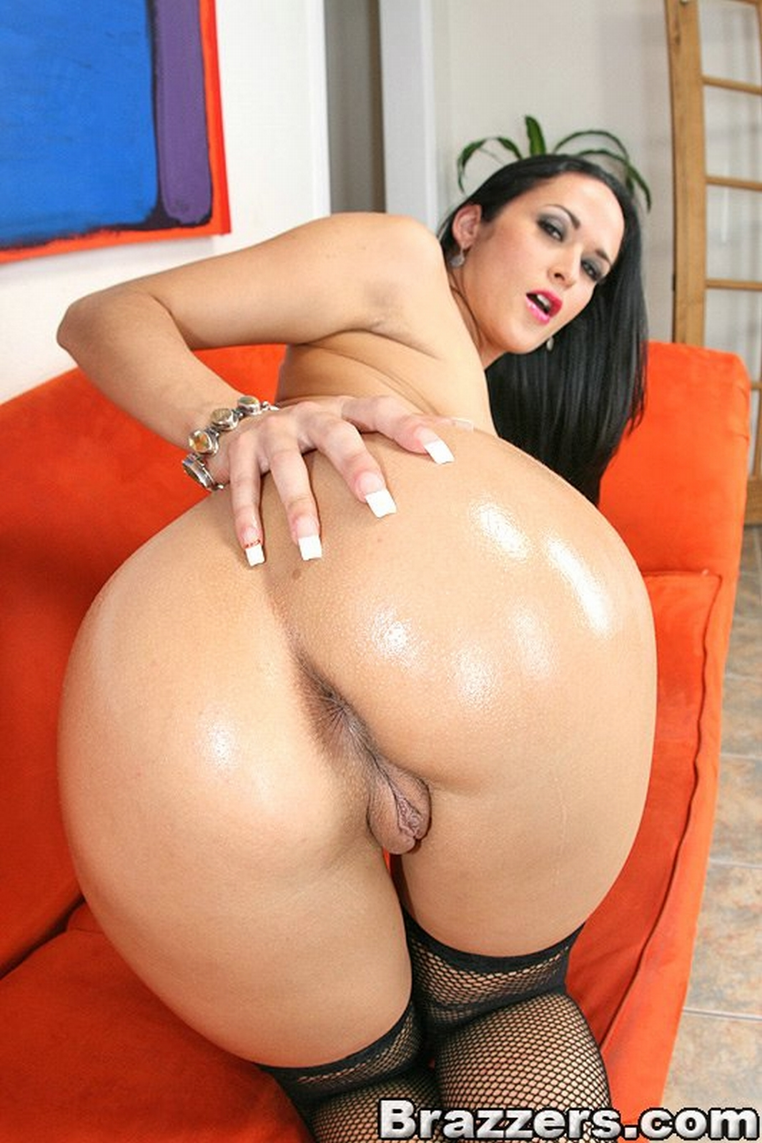 ass big black cock in white
