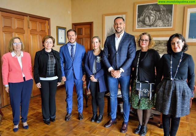 Reunión de Cabildo de La Palma, ULL y SCS