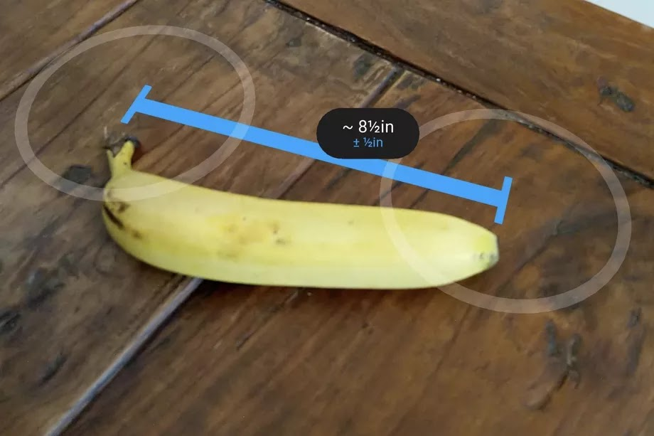 Augmented Reality Measuring App