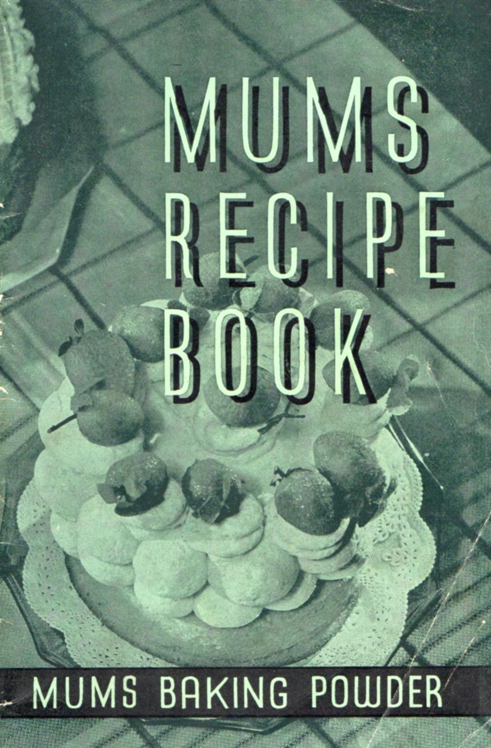 katiecrackernuts.blogspot.com.au || Australian 1941 Mums Recipe Book
