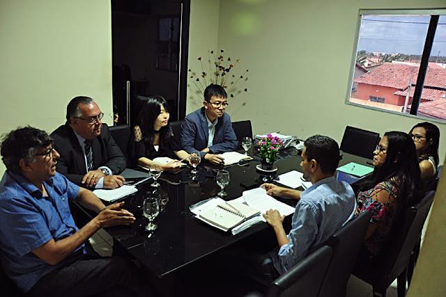 Resultado de imagem para Diretores da Chint oficializam em reunião que a fábrica irá instalar em breve o escritório em Extremoz