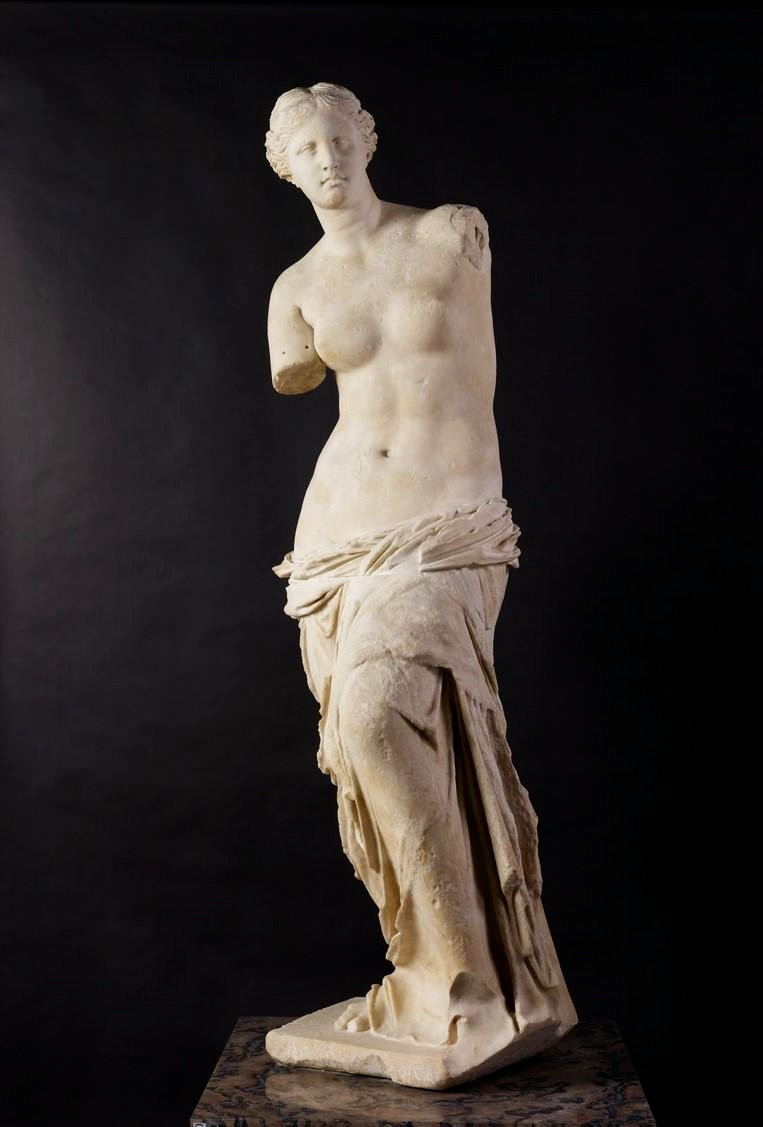 Aphrodite-Venus-de-Milo-Louvre-Paris; Is it Aphrodite, ... or the sea goddess Amphitrite