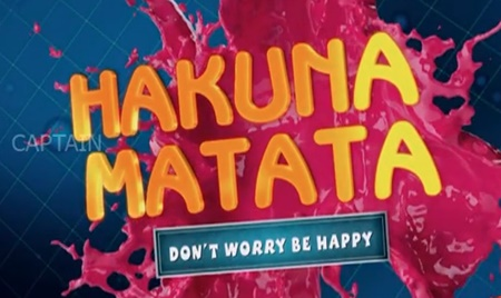 Hakuna Matata | Fun Game With Konjam Konjam Movie Team | Captain Tv