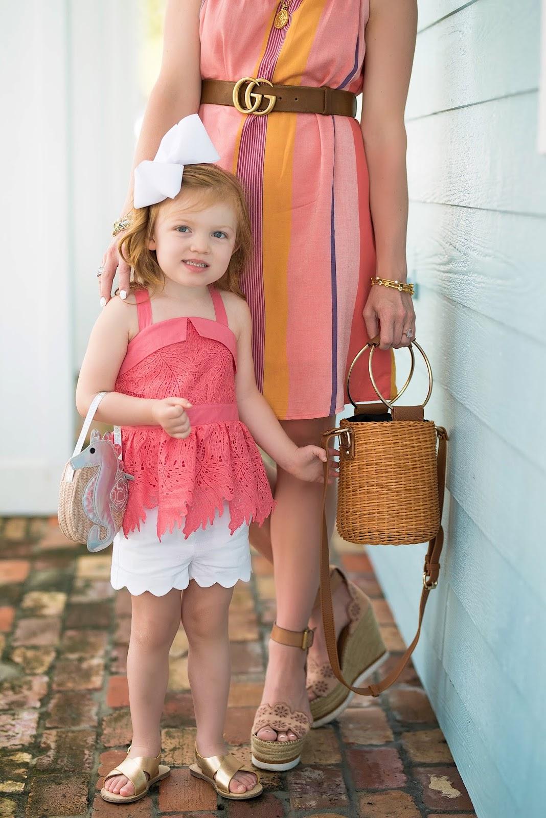 Toddler Fashion: Genuine Kids from OshKosh Toddler Girls' Lace Peplum Top - Something Delightful Blog
