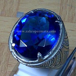 Cincin Batu Natural Blue Obsidian - ZP 768