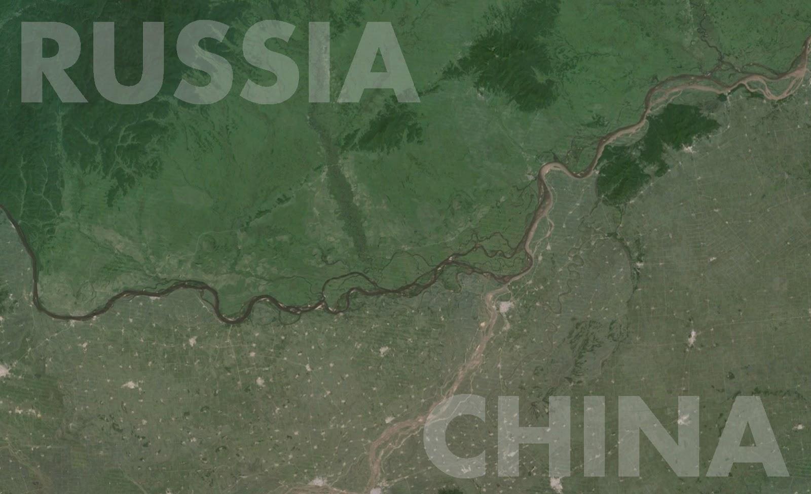 Border between Russia China