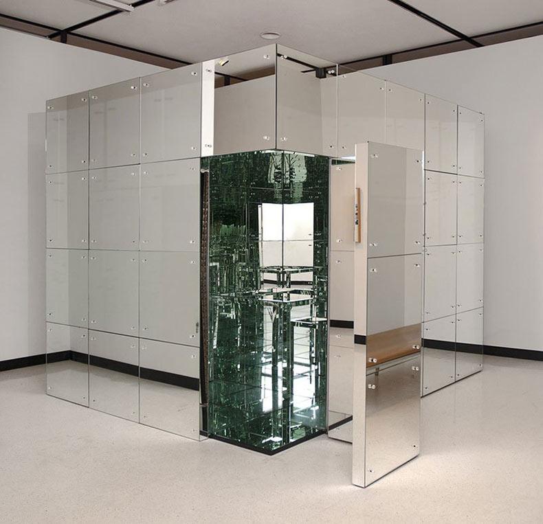 Habitación espejado de 1966 de Lucas Samaras es aún alucinante hoy