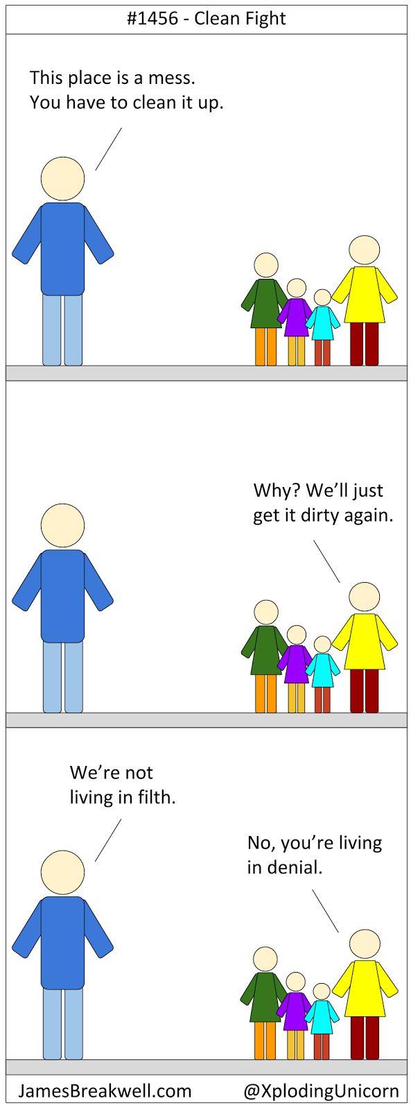 When To Fight >> James Breakwell's Unbelievably Bad Webcomic: Clean Fight