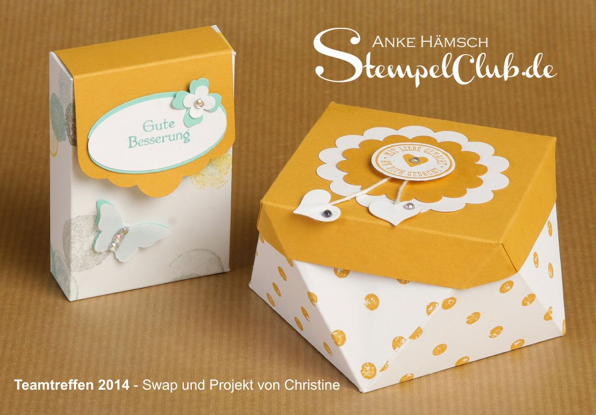 stampin up, Tatü-Box, Taschentuchbox
