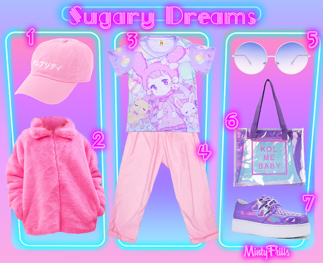 sugary dreams, oceans in space, WC, skinnydip, yru, mintyfrills, spank!