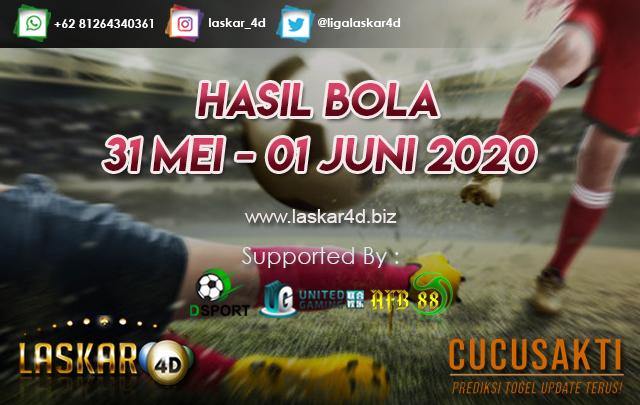 HASIL BOLA JITU TANGGAL 31 MEI – 01 JUNI 2020
