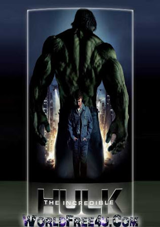 Poster Of The Incredible Hulk 2008 In Hindi Bluray 720P Free Download