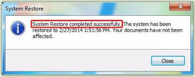 Cara Restore Komputer dengan cmd (command prompt)