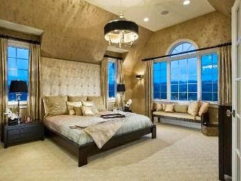 Habitación acentos oro