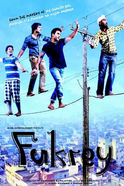 Fukrey 2013 720p BluRay 950mb AC3 5.1 ESub