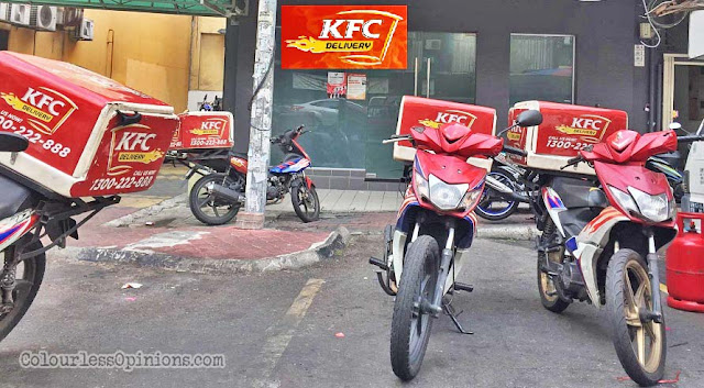 kfc section 14 pj delivery branch
