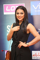 Actress Shraddha Srinath Stills in Black Short Dress at SIIMA Short Film Awards 2017 .COM 0024.JPG