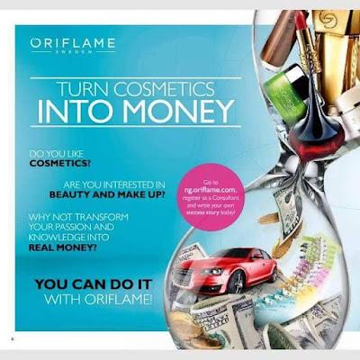 Bagaimana Menghasilkan Uang dari Oriflame?