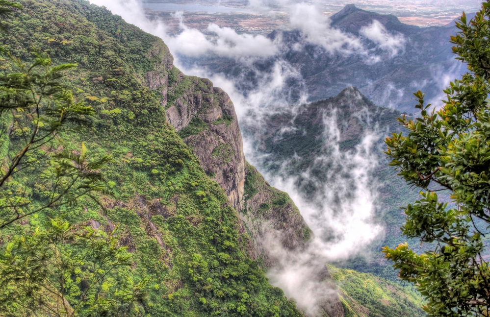 Image result for silent valley view point kodaikanal