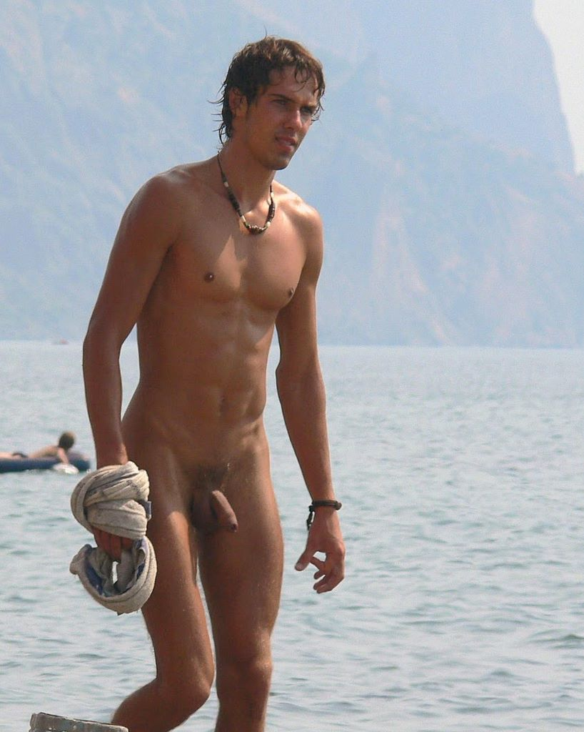 At Beach Men Naked The#5
