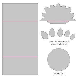 Flower Petal Card Dies