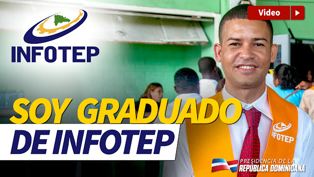 VIDEO: Soy graduado de Infotep