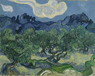 Van Gogh, Oliviers, MoMA