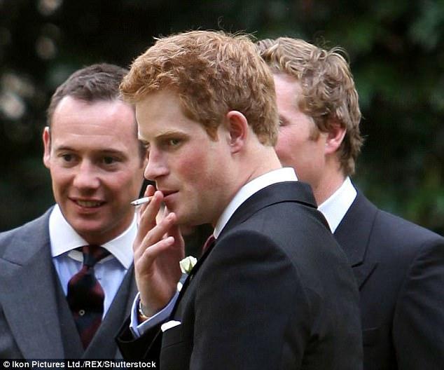 Наречена змусила принца Гаррі кинути курити
