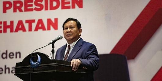 Prabowo Sebut Rakyat Tak Hormat dengan Politisi Karena Suka Bohong