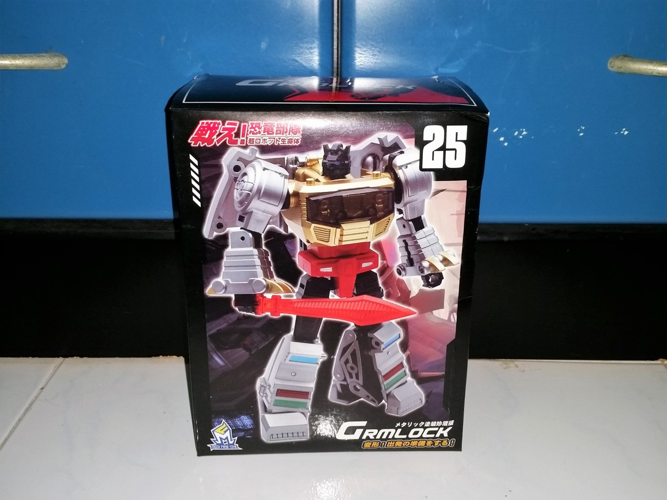New Transform Robot Toy MFT MF 25 Grmlock mini G1 Grimlock