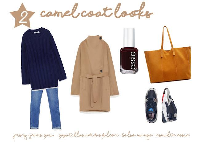 combinar-abrigo-camel-zara-mango-bolso-mostaza-adidas-falcon-azul