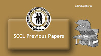 SCCL Fitter Trainee Previous Papers