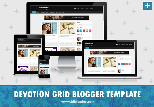 Devotion Grid Blogger Template