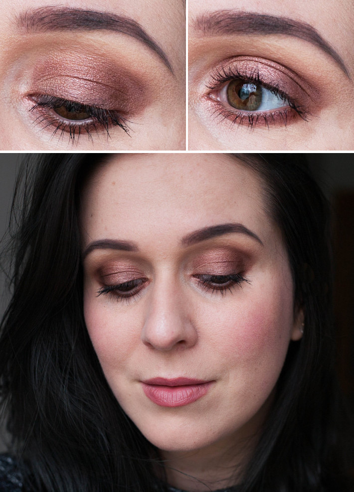 Beauty: MakeupRevolution Flawless palette bronze makeup look