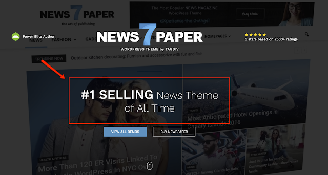 newspaper wordpress theme, Theme Wordpress yang bagus untuk Wordpress