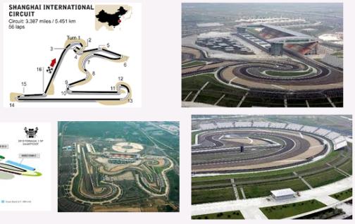 Gambar Sirkuit Internasional Shanghai