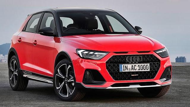 Audi A1 Citycarver rojo