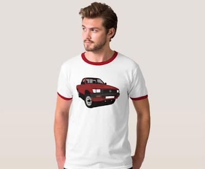 90-luvun Toyota Hilux pickup t-paita