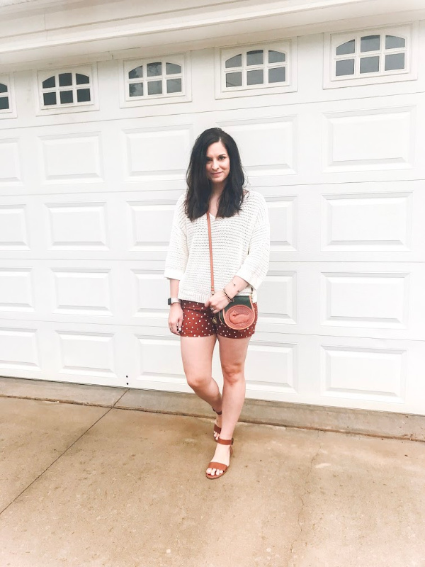 style on a budget, vintage dooney and bourke, madewell shorts, what to buy for spring, spring outfit ideas, style on a budget, north carolina blogger