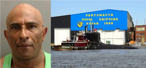 Un dominicano ilegal entró  más de 30 veces al astillero  de submarinos nucleares en New Hampshire