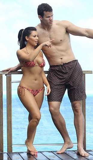 Celebrity News Real Kim Kardashian And Kris Humphries Hot -4003