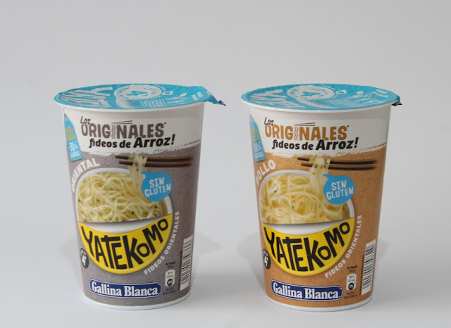 Nuevos Yatekomo Fideos de arroz